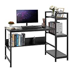 Sturdy X-shape frame Study Writing Desk: Combination of high-quality metal frame and MDF board makes it lighter,easier to clean, waterproof and scratch resistant, and more durable. X-shape frame ensures greater stability and sturdy construction that ...