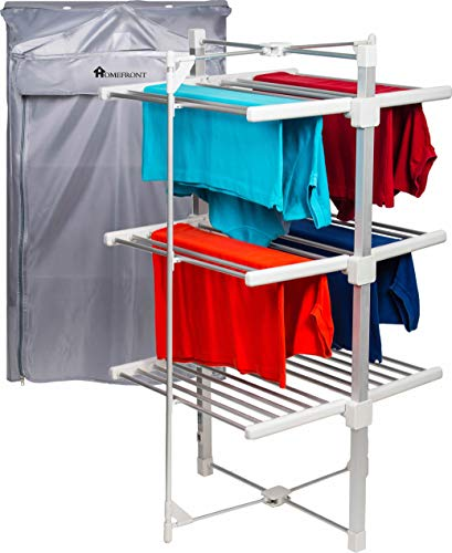 Homefront Electric Heated Clothes Airer Dryer Rack Indoor Deluxe EcoDry...