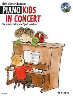 PIANO KIDS IN CONCERT - arrangiert für Klavier - mit CD [Noten / Sheetmusic]