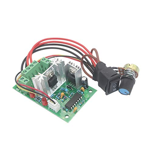 LF_FFa Controlador de Velocidad del Motor DC 1pc 12V 24V (tamaño : 20cm)