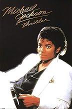 Michael Jackson, Thriller Album Wall Sticker Lienzo Poster Art Interior brillante-50x70cm sin Marco