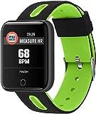 TIANYOU Fitness Tracker Smart Bracelet_Xm-01 Smart Multi-Function Step Heart Rate Caller Id Smart Bracelet Sport Fitness Tracker Fashion/Green