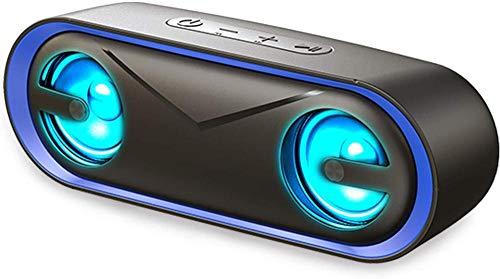 Zhensu Altavoces Bluetooth, Altavoces Portátiles (con 12 Horas De Tiempo De Reproducción), Se Pueden Usar con Teléfonos Móviles, Tabletas, Computadoras Portátiles Y Computadoras De Escritorio.