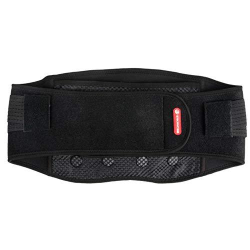 Wsaman Cinturón de Fitness, Electricidad Cinturón Calefacción Acelerar Pérdida Waist Trimmer con Protección del Sobrecalentamiento De Cintura Caliente Abdomen