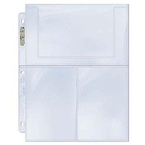 Ultra Pro 100 3-Pocket Platinum Pages 4 x 6 - Photos Cards Fotos