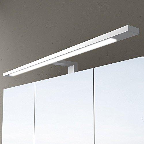 Mai & Mai Lámpara de espejo LED con interruptor de transformador y ancho de enchufe: 40cm 230V 6W A blanco universal (5000K)