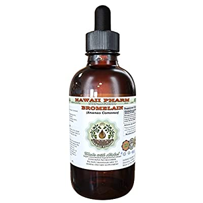 Bromelain Alcohol-Free Liquid Extract, Bromelain (Ananas Comosus) Dried Powder Glycerite Herbal Supplement