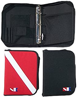 Trident 3-Ring Zippered Dive Log Organizer