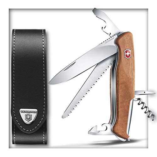 Victorinox Ranger Wood 55 ? Nussbaum ? NEU ? 0.9561.63 mit Gürtel-Etui