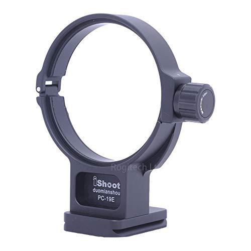 iShoot IS-PC-19E Objektivkragen Stativhalterung Ring für Nikon PC Nikkor 19 mm F4E ED Tilt-Shift Objektiv