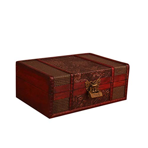 XGYUII Adult Large Cremation Urns Beautifully Handmade Wooden Cremation Box//Urns for Human Ashes Adult Funeral Urn Box,23 16 9.5cm