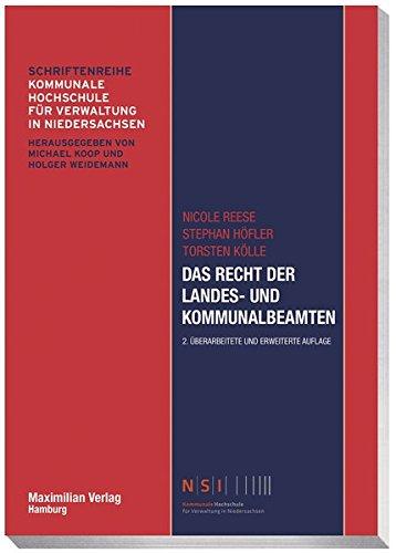 Das Recht der Landes- und Kommunalbeamten (NSI-Schriftenreihe)