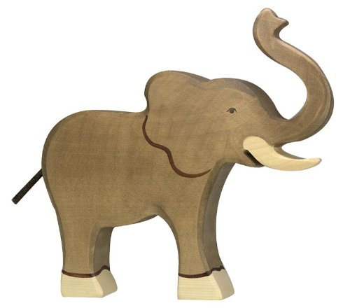 Holztiger: Elefant