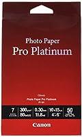 Canon PT - 10110x 15cm、50シートフォト用紙Pro Plati、2768b014(シートフォト用紙Pro Plati 300g)