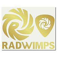 絵柄だけ残る ステッカー S 「RADWIMPS」 金 068G
