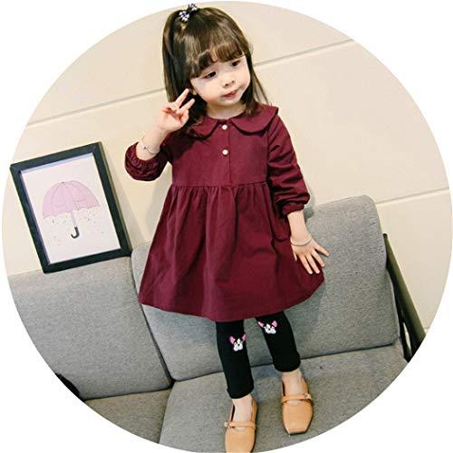 Xiaoai's winkel Meisjes jurk, baby pop jurk, katoenen shirt rok