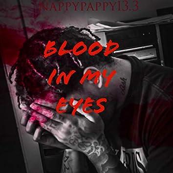 blood in my eyes