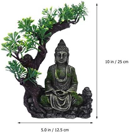 Buddha aquarium decoration _image1