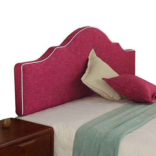 QARYYQ Bedroom Soft Pack Back Bed Without Double Bed Side Backrest Large Soft Cushion (Colour: Mauve, Size: 120 x 50 cm)