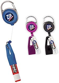 Zip Stick Retractable Lip Balm Holder (Single- Assorted Colors)
