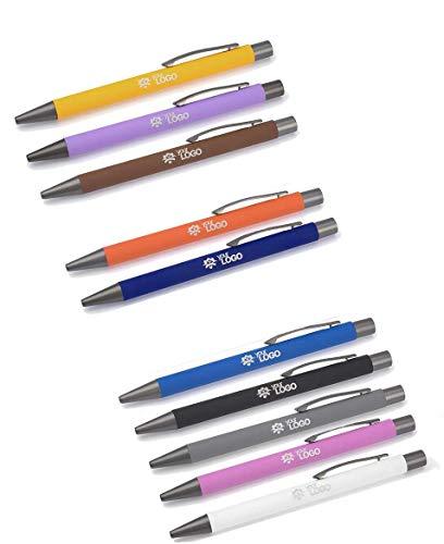 Kugelschreiber mit Gravur Modell Gomista Soft Touch Oberfläche 10 Farben, Menge:25 Stück