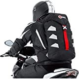 QBag Motorrad Rucksack Herren und Damen Fahrradrucksack wasserdicht, 25 Liter Stauraum, sehr leicht,...