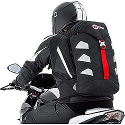 Motorradrucksack Touring Rucksack 3M Scotchlite Motorcycle gepolstert 15 l