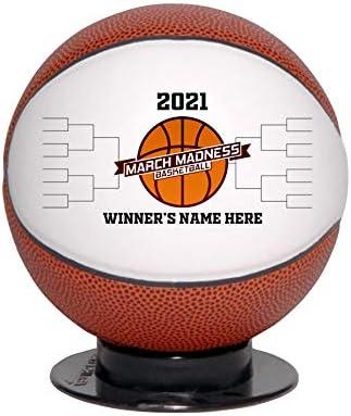 Custom March 贈答 Madness Mini Trophy Basketball 在庫あり 2021 Award Persona
