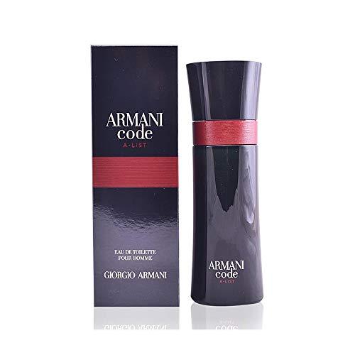 Giorgio Armani Code A-List Pour Homme Eau de Toilette, 75 ml