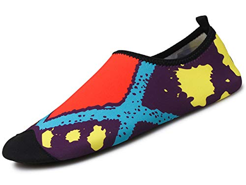 GJRRX Calcetines de Buceo Natación Zapatos de Agua Unisex para Buceo Snorkel Surf Piscina Playa Yoga Deportes Acuáticos Hombres y Mujeres 35-44