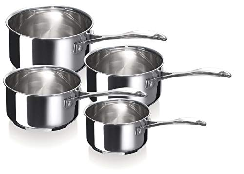 Bekaline 12066984 Chef Série de 4 Casseroles en acier Inoxydable 14/20 cm