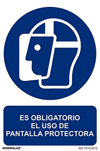 """Normaluz RD21008, Señal Homologada """"Es Obligatorio El Uso de Pantalla"""