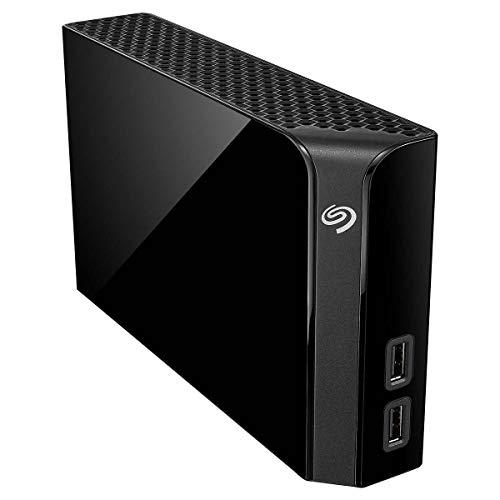 Seagate Backup Plus Hub - Disco duro de sobremesa (8 TB, con servicios de recuperación de datos de rescate)