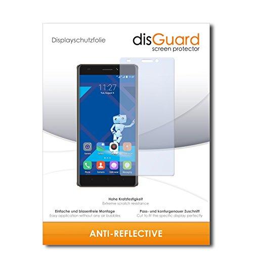 disGuard® Bildschirmschutzfolie [Anti-Reflex] kompatibel mit Haier Phone L53 [4 Stück] Entspiegelnd, Matt, Antireflektierend, Extrem Kratzfest, Anti-Fingerabdruck - Panzerglas Folie, Schutzfolie