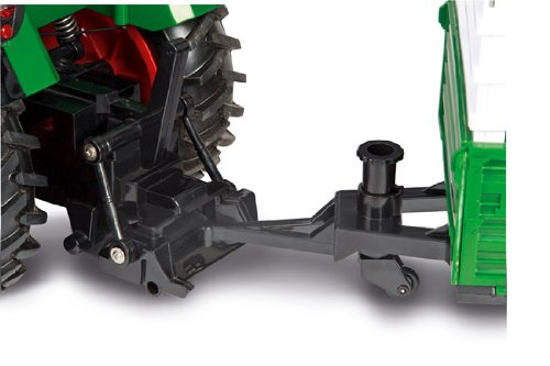 RC Auto kaufen Traktor Bild 3: Carson 500907171 1:14 Fendt 100% RTR 2.4G Singlereifen, grün*