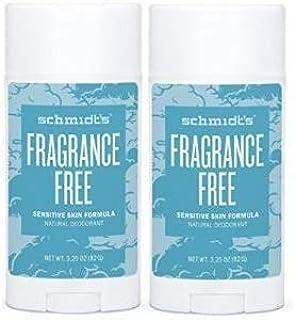 Schmidt's Natural Deodorant for Sensitive Skin - Fragrance Free, Unscented, 3.25 Oz Stick; Aluminum-Free Odor Protection &...