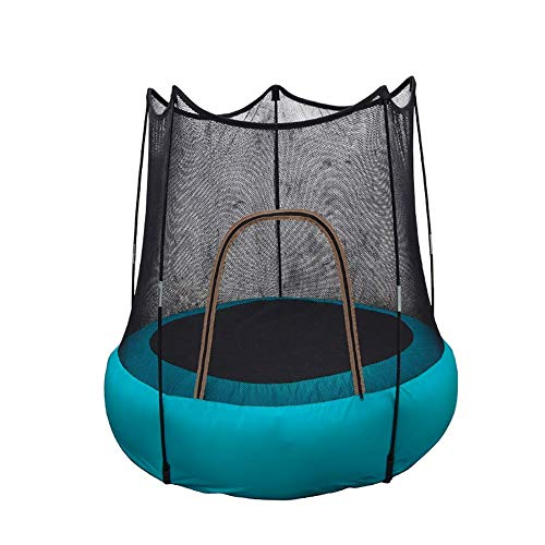YLJYJ Indoor Mini Exercise Trampoline for Kids, Home Gym for Fitness & Lose Weight Workout Exercise Fitness Bouncer, Safety and Durable Toddler Tr(Exercise Bicycle)
