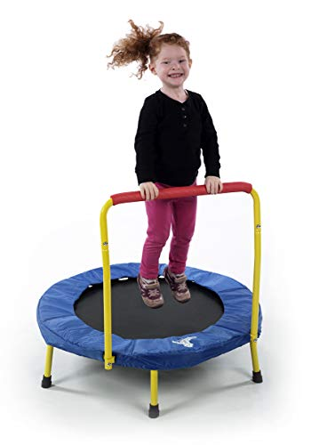 The original fold and go trampoline for kids