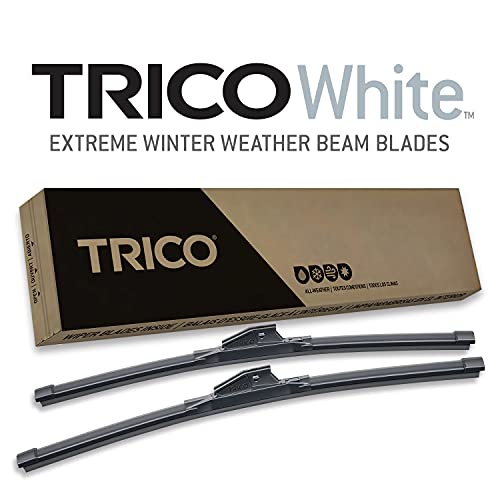 """TRICO White 35-2617 Extreme Weather Winter Wiper Blades - 26""""+ 17"""" (Pack of 2)"""""""