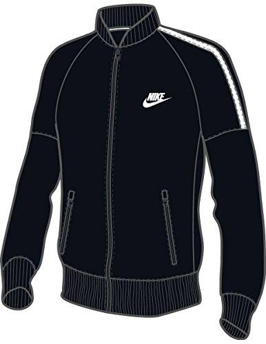 Nike Tribute Varsity Jacket - Jacke Schwarz - 2XL - Herren