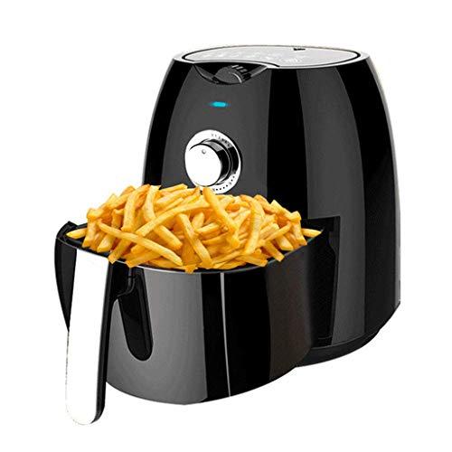 XMYL 4.5L Heißluftfritteuse Multikocher mit Timer, Fritteuse und Backautomat,Heißluftofen mit 1300W, Frittieren ohne ÖL,Weiß