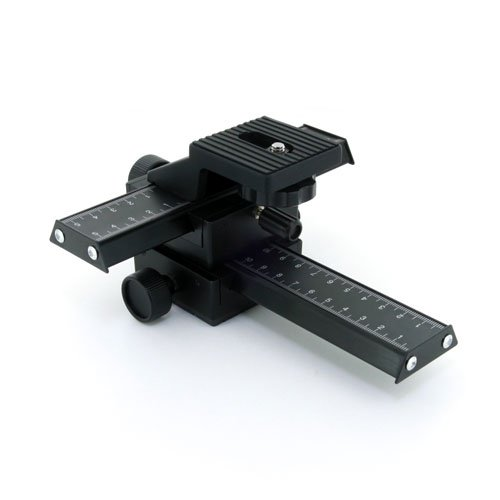 Zykkor 4 Way Macro Focusing Rail Slider for SLR DSLR Camera