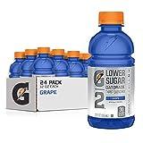 Gatorade G2 Sports Drink Low Calorie, Grape, 24 Count