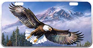 American Pride The Bald Eagle Custom Car License Plate,not Fade, Smudge, or Crack 11.8