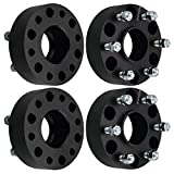DCVAMOUS 6x135 Hubcentric Wheel Spacers Compatible with Ford F150 6 Lug, 4pc 2' Wheel Spacer with 14x2.0 Studs for 2004-2014 F150 Expedition, 2003-2014 Lincoln Mark LT Navigator