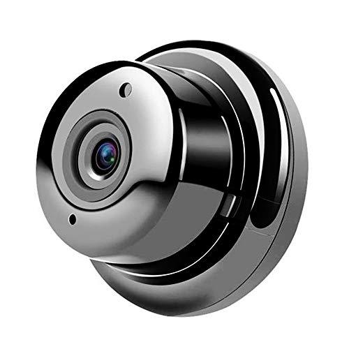 Rosepoem Cámara Web con WiFi Cámara IP WiFi Mini V380 720P Cámara De Visión Nocturna para Seguridad