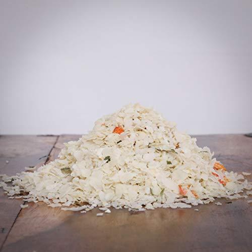 Hitzegrad Barf Reis/Gemüse Mix als Menü-Zusatz für Hunde - 10kg