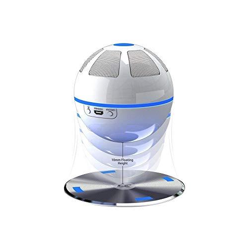 ICE Orb enceinte Bluetooth flottante - Blanc / Bleu