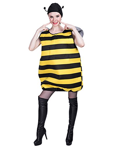 EraSpooky Abeja Disfraz Insecto Unisex Halloween Onesie
