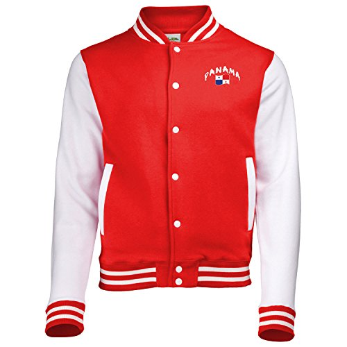 Supportershop Jungen Panama Jacke, rot, XL